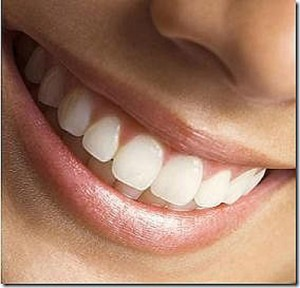 nice white teeth