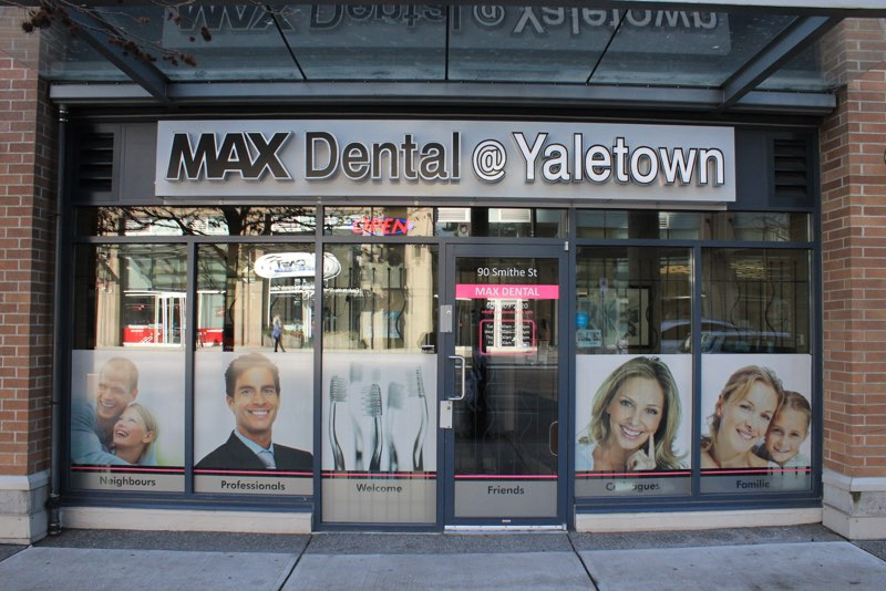max dental yaletown dentist