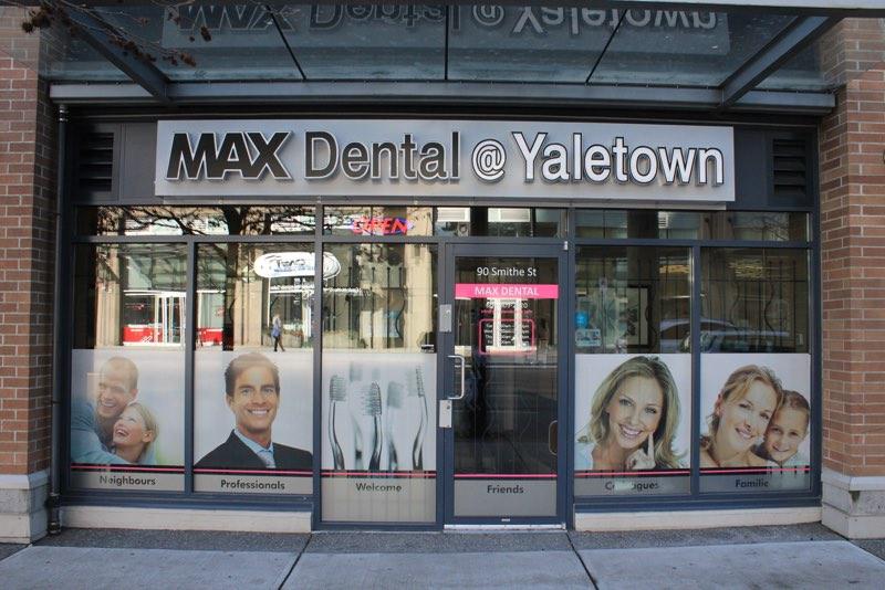max dental yaletown dentist